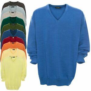 Size Pullover merino Plus collo lana marzo maglia Marzo Fine in Maglione a Uomo qwOp4nF7