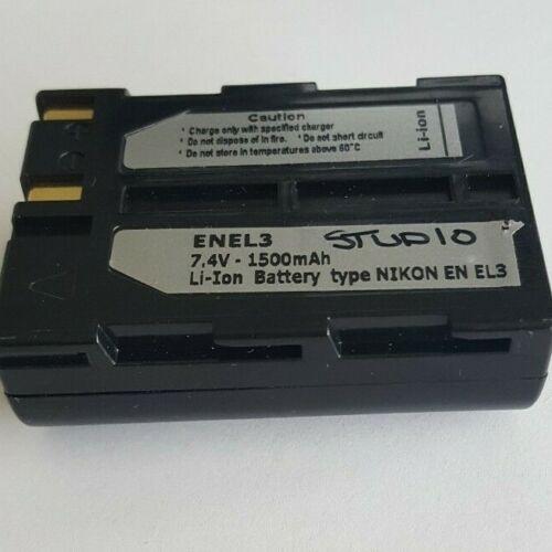 EN-EL3 Li-Ion Nikon Compatible Battery for D50 D70 D80 D90 D100 D200 D300 D700