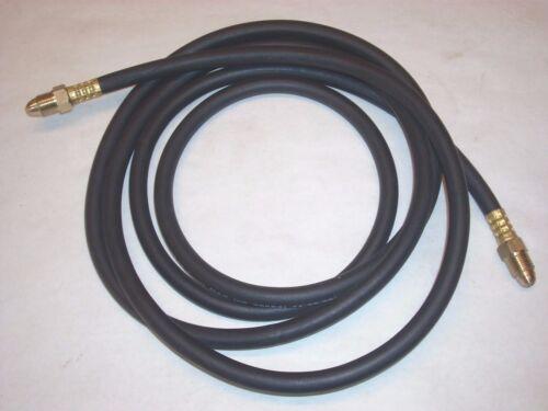 "10/' Mig Tig Welding Inert Gas Hose 1//4/"" ID w 5//8-18 Thread Male Fittings 200PSI"