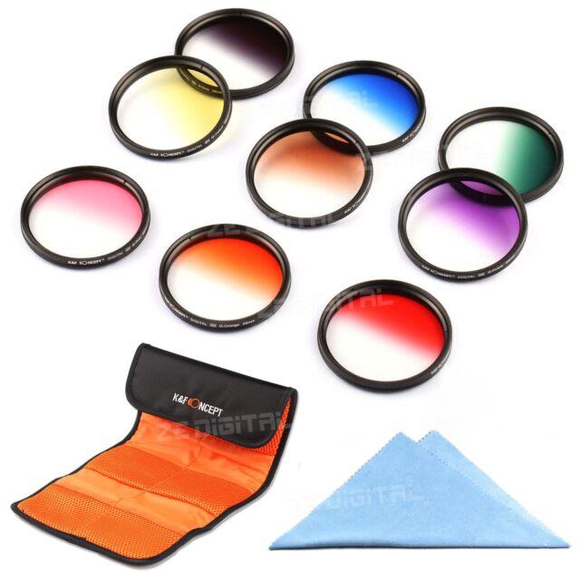 58mm Graduated Filter Kit For Canon EOS 1100D 500D 550D 600D 60D 450D 400D 350D