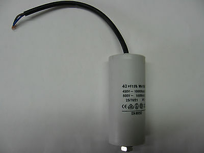 condo condensateur permanent de démarrage moteur 450v 3µF 3uF 3MF étroit