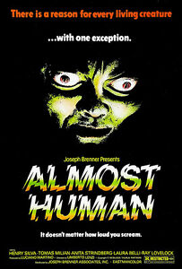 Almost Human - 1974 - Movie Poster | eBay