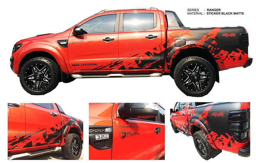 Ford Ranger Stickers EBay - Custom car decals and vinyls