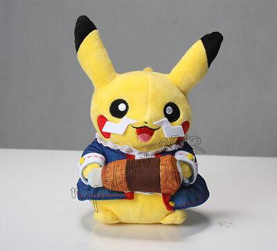 Pokemon World Championship Pikachu Plush Doll Cute Toy Xmas Gift 6.5 Inch