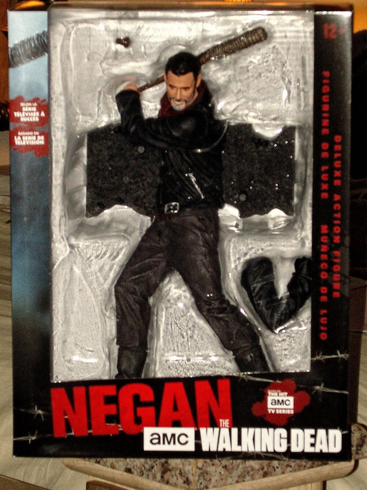 The Walking Dead Negan Deluxe 10-Inch Action Figure with Bat  Lucille  SEALED
