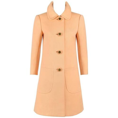 Diorling by CHRISTIAN DIOR c.1960's Peach Wool But