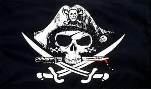 Verzamelingen Cross Skull 5'x3' Pirate Flag Vóór 1939