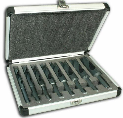16,5-19 Bohrerset HSS Wolframcarbid 14 20,5-22 15 16 8 tlg 25,5 mm
