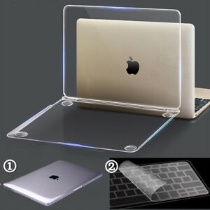 Glossy-Clear-Rugged-Hard-Case-Keyboard-Cover-for-Mac-MacBook-Air-Pro-11-12-13-15