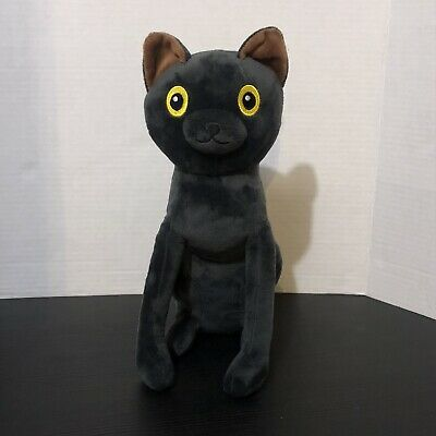 Denis Daily SIR MEOWS A LOT Black Cat Plush Stuffed Animal ...