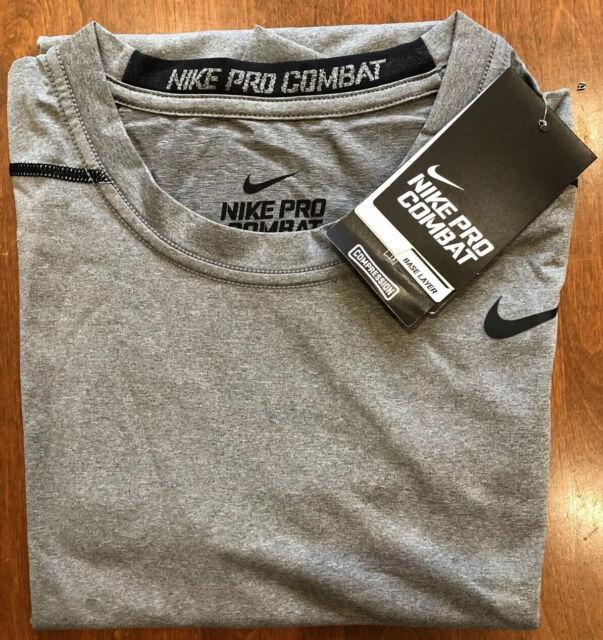 Asociación Interconectar Registro  Nike Pro Combat Hypercool Clampdown Compression Shirt Blue XXL for sale  online   eBay