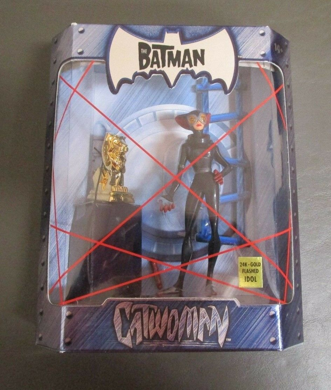 Catwoman 24K gold Flashed Idol THE BATMAN Convention Exclusive Mattel Mattel Mattel MOC f35a6c