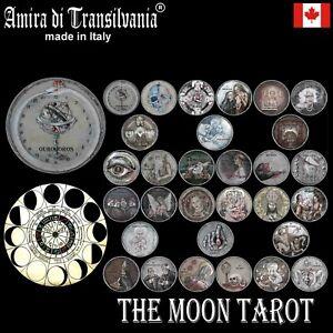 moon tarot cards card deck rare vintage major arcana moonology oracle book guide
