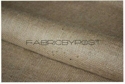 """Fabricbypost ® 40/"""" Natural Arpillera blanca Yute Arpillera Saco De Tela Mesa De Tela Por Metro"""