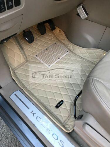 Auto Fussmatten Fußraumschalen Kunstleder für Jaguar XK Coupe X150 BJ 2006-2020
