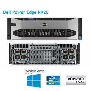 Dell-PowerEdge-R920-4-x-E7-4850-V2-2-30Ghz-12-768GB-RAM-H730p-Core-Lunetta-2GB