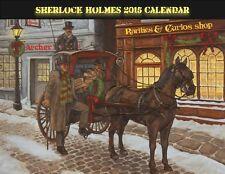 Sherlock Holmes Calendar-2016