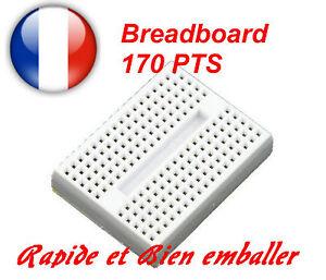Breadboard 170 pts Couleur Blanc 4Joim310-08125307-415822642