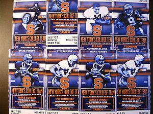 One ticket Minnesota Gophers 2013 NCAA football ticket stubs