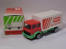 Iveco Container Lorry Batchelors Peas Corgi 1/64 Diecast Mint in Box 1985