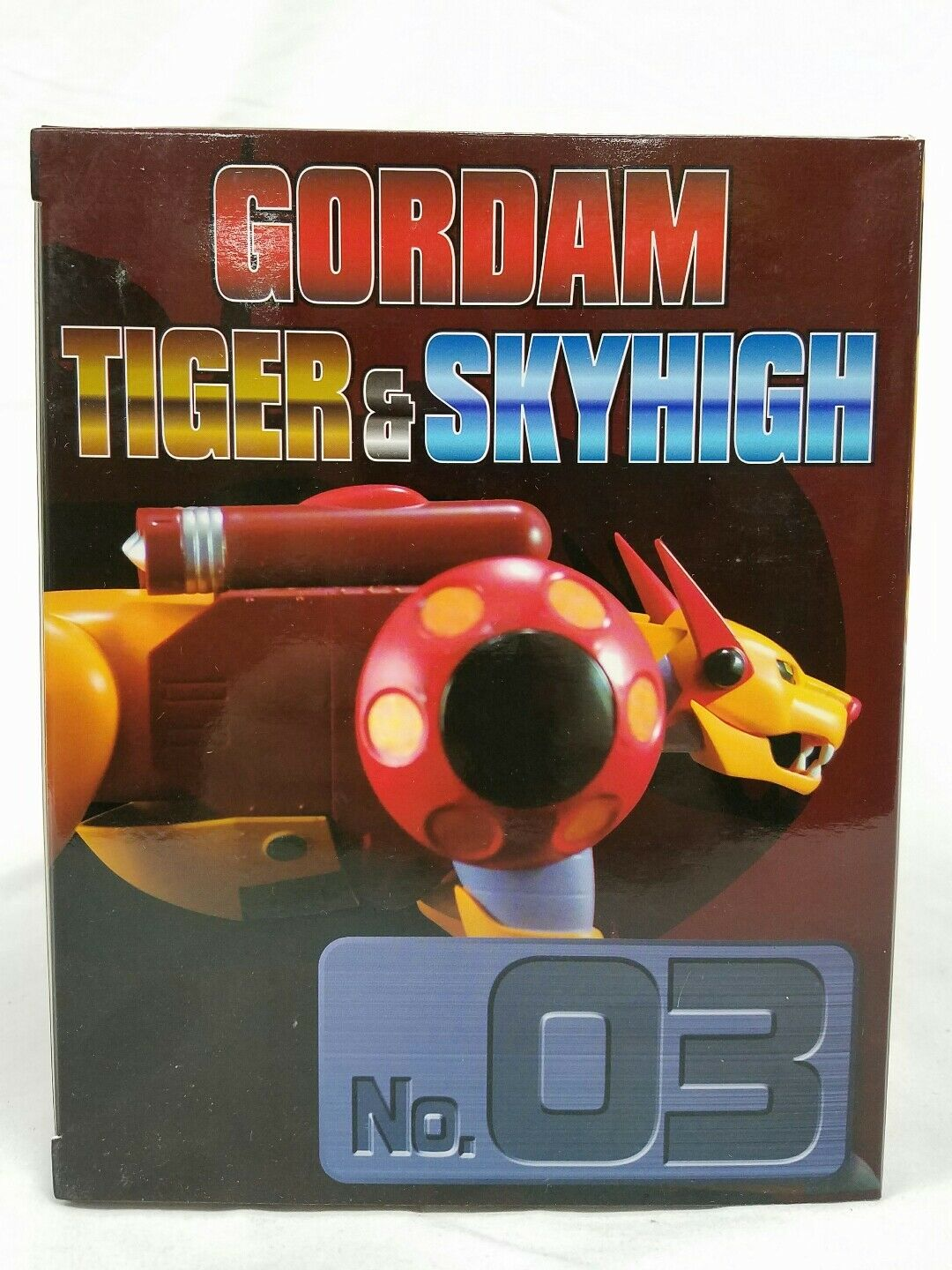 Gordam Tiger & Sky High Figure Dynamite Action Action Action Hybrid No 3 New Sealed 0b185d