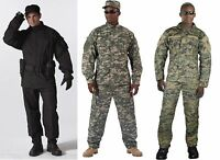 Rothco Army Combat Camouflage Rip Stop Uniform Made To Military Specs