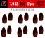 CHOOSE FROM BULK PACKS Kenders Tungsten Bulk Flipping Weights BLOOD RED