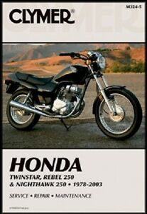 CLYMER SERVICE REPAIR MANUAL HONDA TWINSTAR CM185T 1978-1979 ... on 1982 honda cm200t, 81 honda cm200t, honda cm200t parts,