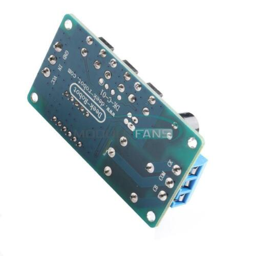 12V Display LED Timer Relay Delay Programmable Switch Board Buzzer Button Module