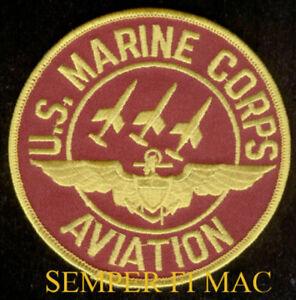 US MARINES PILOT WING PIN UP MAW MCAS F-18 AV-8 CH-53 CH-46 F4 A6 A4 AH1W C130