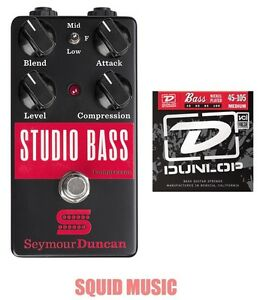 Seymour Duncan Studio Bass Compressor Sustainer - 1 Gratuit Lot De Bass Strings-afficher Le Titre D'origine