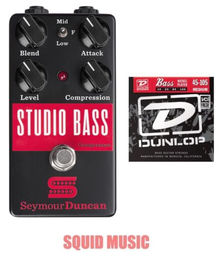 Seymour Duncan Studio Bass Compressor Sustainer 1 Free Set of  Bass Strings