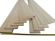 "8 x 3//16/"" Thick x 4/"" Wide x 36/"" Long Free UK Mainland Post Balsa Wood Sheet"