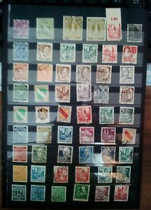Aliados-ocupacion-sellos-sellos-Stamps-timbres-coleccion