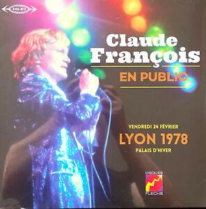 Claude François LP Palais D'hiver - Lyon 1978 - En Public - France