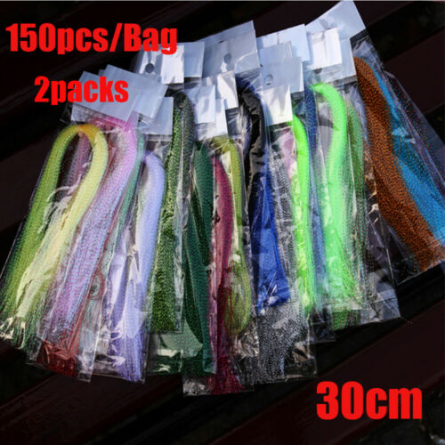Squirmy screw Flash Holographic Tinsel Fly Tying Materials Lure Making Material