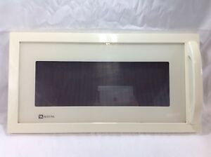 Image Is Loading Maytag Microwave Mmv5186aaq Almond Replacement Door And Handle