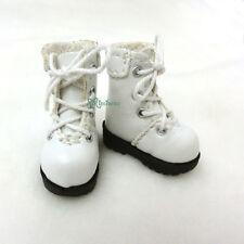 "16cm Lati Yellow Basic Bjd 12"" Blythe Pullip Doll Shoes High Hill Boots WHITE"