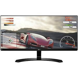 LG 34UM60 P 34 Inch IPS WFHD 2560 x 1080 Ultrawide Freesync Monitor 2017 Model