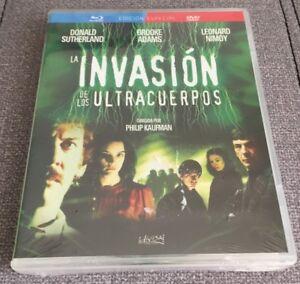 LA-INVASION-DE-LOS-ULTRACUERPOS-COMBO-BLURAY-DVD-NEW-SEALED-NUEVO-EMBALADO