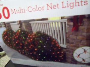 image is loading christmas 150 multi colored net lights indoor outdoor