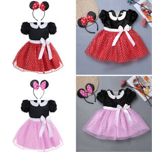 2dbe58a6a8c5 Image is loading Baby-Kids-Girls-Cartoon-Halloween-Costume-Party-Tutu-