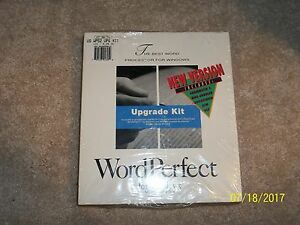 Word perfect for windows version 52 upgrade kit brand new factory image is loading word perfect for windows version 5 2 upgrade publicscrutiny Choice Image