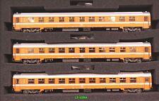 LS 42064 SNCB set carrozze I10A + I10B + I10B livrea arancio senza aria cond. Ep