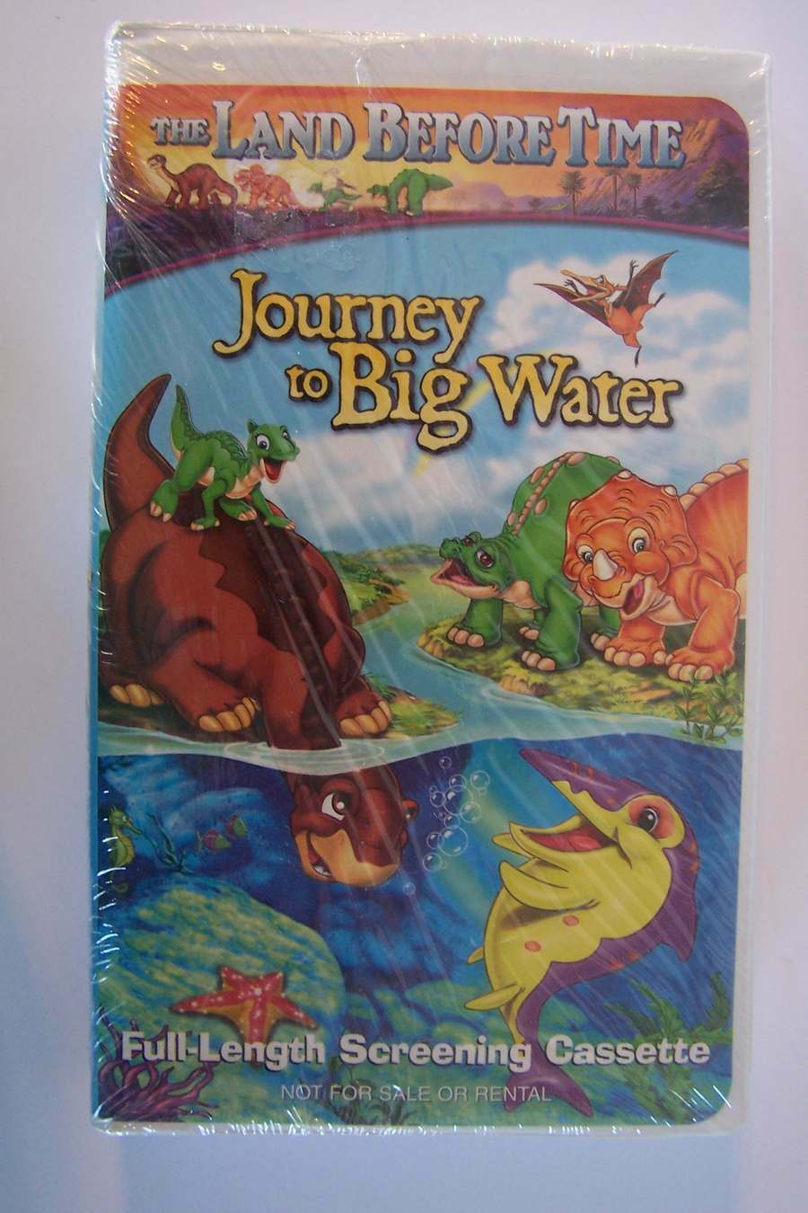 The Land Before Time: Journey to Big Water VHS PROMO Sc