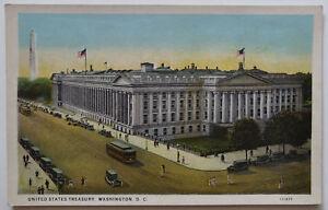 Washington-DC-Postcard-Treasury-Building-1926