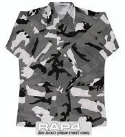 Rap4 Paintball Bdu Playing Jersey Jacket - Urban Street Camo - Small