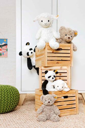 EAN 075766 Steiff Soft Cuddly Friends Ming Panda washable teddy bear 18cm
