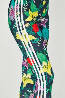 100% Vero Adidas Originals W Bloom Fiori Multi Verde Leggings Taglia Uk 12 Nuovo (771)-mostra Il Titolo Originale