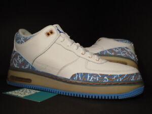 f750c4f4e017 08 Nike Air Jordan Force III 3 Retro DTRT AJF WHITE CEMENT BLUE ...